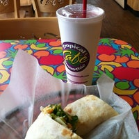 Photo taken at Tropical Smoothie Cafe by Kate S. on 8/27/2012