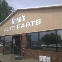 Photo taken at Gene's Auto Parts by Jenilee W. on 8/31/2011