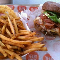 Photo taken at YEAH! Burger by Chad E. on 4/24/2011