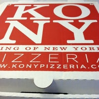 Photo taken at King of New York Pizzeria by Christina J. on 8/31/2011