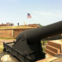 Photo taken at Fort McHenry National Monument and Historic Shrine by Alex B. on 6/28/2012