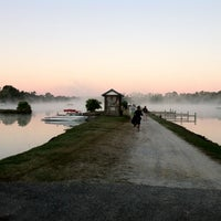 Photo taken at Bennetts Ski and Wakeboard School by Kevin E. on 10/14/2011