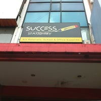 Photo taken at Success Stationery Puri by Dhana Putra 龐. on 5/28/2012