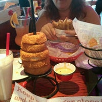 Photo taken at Red Robin Gourmet Burgers by Jim B. on 4/20/2012
