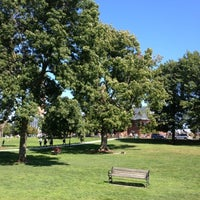Photo taken at UVM Green by Harjit on 9/12/2012