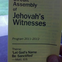 Photo taken at Buckingham Assembly Hall of Jehovah's Witnesses by Richard B. on 9/24/2011