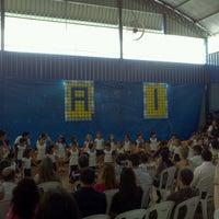 Photo taken at Colégio Objetivo - Unidade São João Bosco by Bruno C. on 8/9/2012