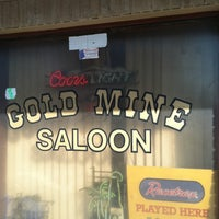 Photo taken at Gold Mine Saloon by Nathan M. on 4/27/2012