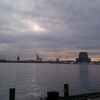 Photo taken at Canton Waterfront Park by Kellie I. on 11/26/2011