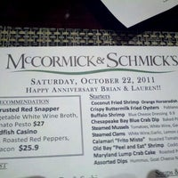 Photo taken at McCormick & Schmick's by Lauren on 10/22/2011