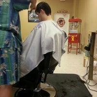 Photo taken at Gentleman's Corner Barbers by Lisa S. on 7/23/2012