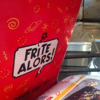 Photo taken at Frite Alors! by Martin L. on 6/20/2012