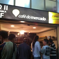 Photo taken at Café do Mercado by Paula V. on 5/5/2012