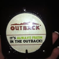 Photo taken at Outback Steakhouse by Kyla A. on 1/30/2012