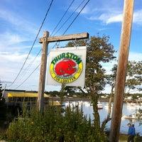 Photo taken at Thurston's Lobster Pound by Glenn S. on 8/31/2011