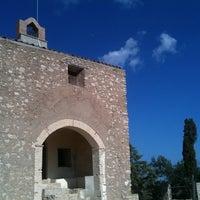 Photo taken at Ermita de Sant Pau by Santos P. on 9/25/2011