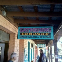Photo taken at Gathering Grounds coffee shop by Alex H. on 12/26/2011