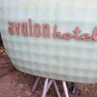 Photo taken at Avalon Hotel Beverly Hills by Russ C. on 3/10/2012