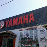 Photo taken at motos Guerrero (Yamaha). by Miguel G. on 10/31/2011