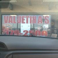 Photo taken at Valuetina's Pizza by Jonathan M. on 2/25/2012