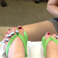 Photo taken at Glamour Nails by Leah S. on 7/25/2012