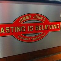 Photo taken at Jimmy John's by April A. on 7/12/2012
