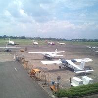Photo taken at Halim Perdana Kusuma International Airport (HLP) by Anash D. on 4/3/2012