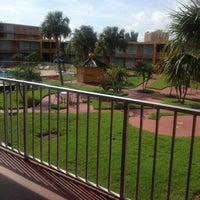 Photo taken at Days Inn Orlando International Drive by Jonathan M. on 8/29/2012