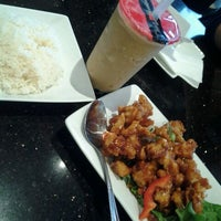 Photo taken at Thai House Express by Michelle S. on 2/22/2012