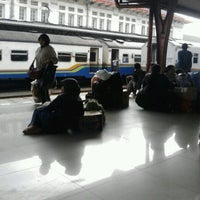 Photo taken at Pasar Senen Station by Hari Y. on 4/1/2012