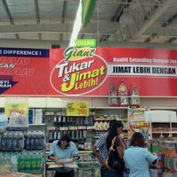 Photo taken at Giant Hypermarket by shyuhada m. on 9/4/2011