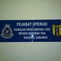 Photo taken at Pejabat Operasi Kawalan Keselamatan Ltab Kuching Briged Sarawak Pga by Adie S. on 9/13/2011