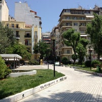 Photo taken at Navarinou Square by Nikos M. on 6/10/2012