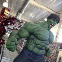 Photo taken at Phat Collectibles by Jessica K. on 4/1/2012