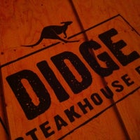 Photo taken at Didge Steakhouse Pub by Felipe A. P. on 3/11/2012