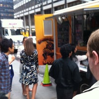 Photo taken at Gorilla Cheese Truck NYC by weclassy on 8/26/2011