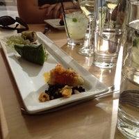 Photo taken at Leaf Vegetarian Restaurant by Megan B. on 4/6/2012