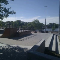Photo taken at Belconnen Skate Park by James T. on 11/5/2011