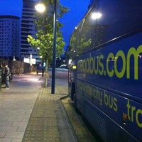 Photo taken at Megabus Birmingham City Centre Stop SH8 & SH9 by Szilvia L. on 8/30/2011