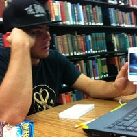 Photo taken at MacDonald Kelce Library by Mike R. on 10/24/2011