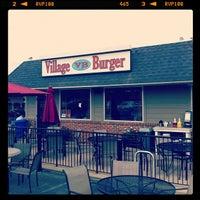 Photo taken at Village Burger by Sarah B. on 9/11/2012