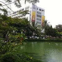 Photo taken at King Mongkut's University of Technology Thonburi (KMUTT) by JoobJang on 3/6/2011
