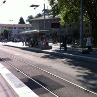 Photo taken at Bernmobil Loryplatz by Daniel W. on 7/9/2011