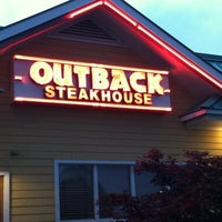 Photo taken at Outback Steakhouse by Kristen F. on 5/28/2012