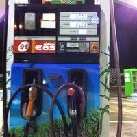 Photo taken at Bangchak Gas Station by 💙💤Cabon💤💤💙 . on 7/4/2012