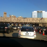 Photo taken at Holland Tunnel Toll Plaza by Sonja P. on 3/12/2011