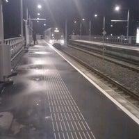 Photo taken at Metrostation Meijersplein by JPVDW on 12/21/2011