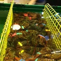 Photo taken at Thurston's Lobster Pound by Jaime B. on 8/10/2012