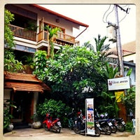 Photo taken at Vieng Mantra Hotel by endroo G. on 8/14/2011