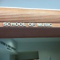 Photo taken at School of Music (MUS) by Jon T. on 9/6/2011